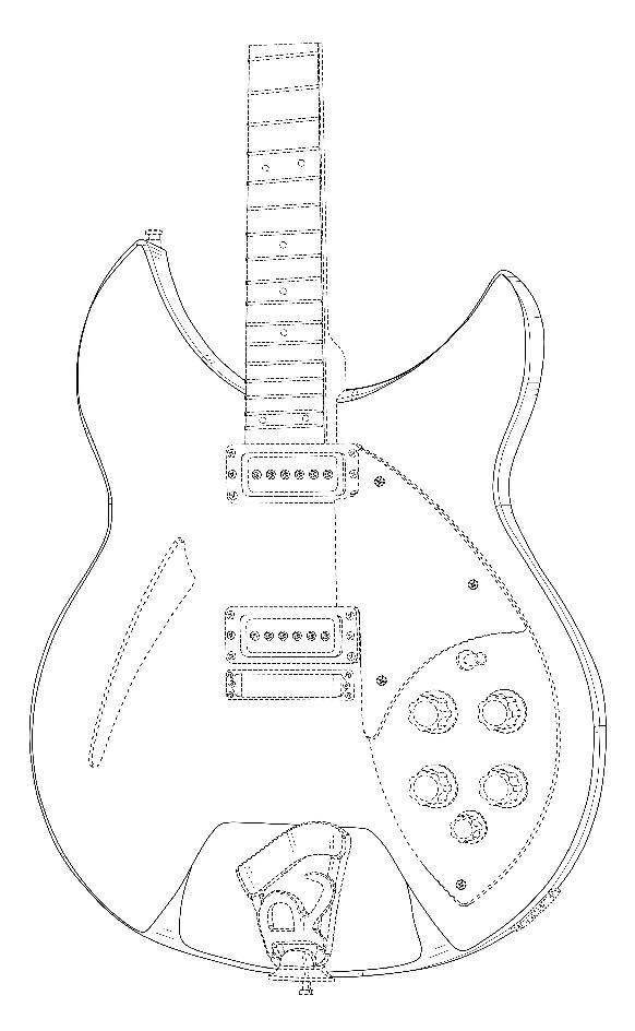 guitar mania   uspto recently issued four 3d guitar