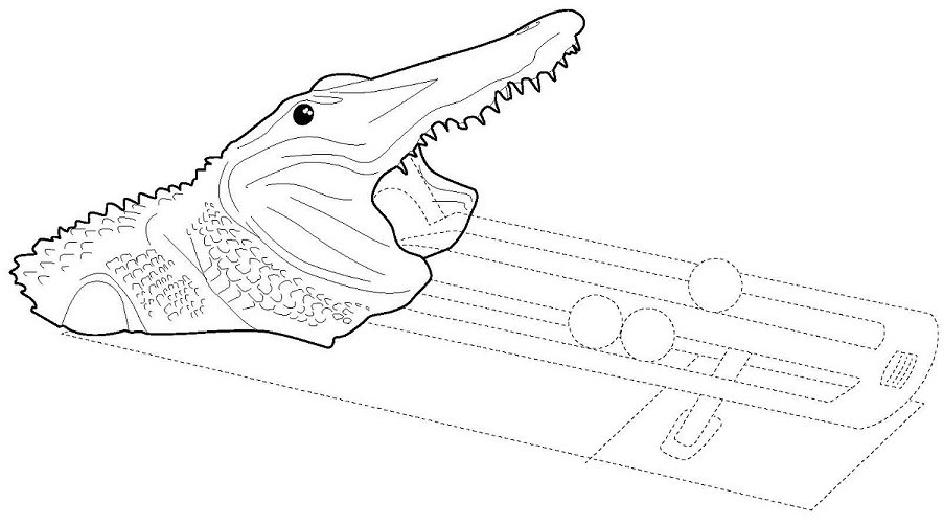bass pro obtains registration for shark and alligator