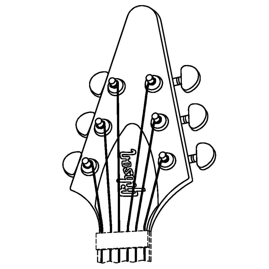 The Following Drawing Left And Photograph Of Guitar Section Right Was Provided